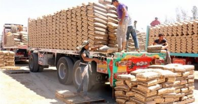 Overstocked inventory Saudi Cement companies are forced to stop production