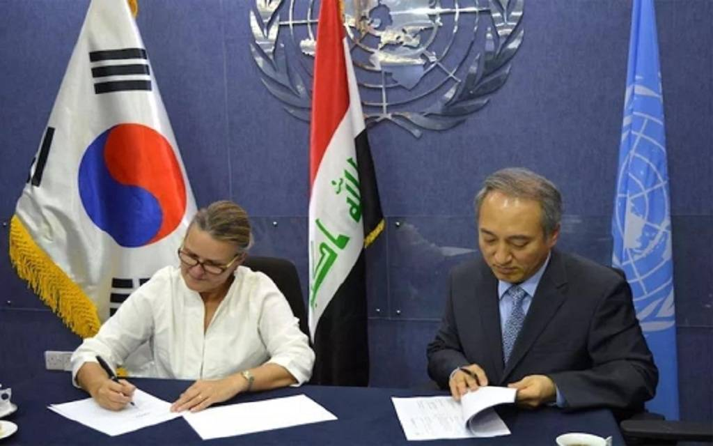 South Korea gives Iraq $ 4 million for reconstruction projects
