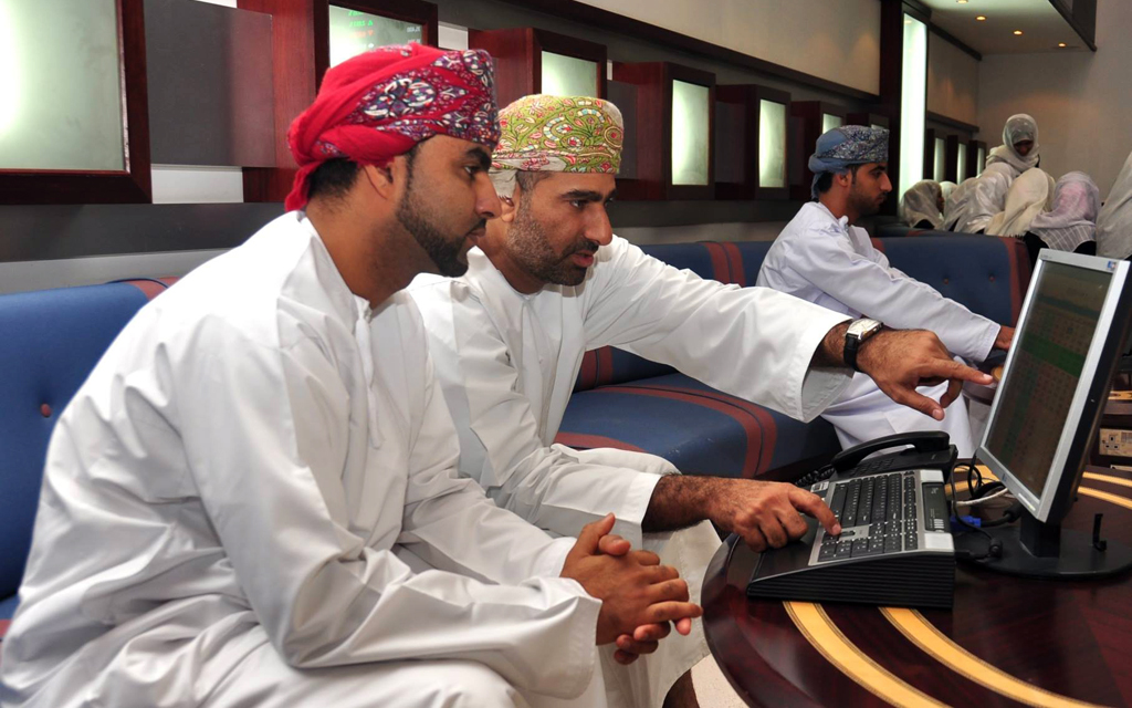 Industry and financial shares index rising Muscat am